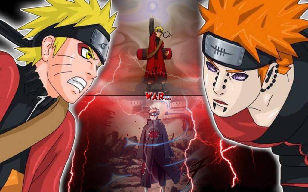 Naruto Uzumaki vs Pain