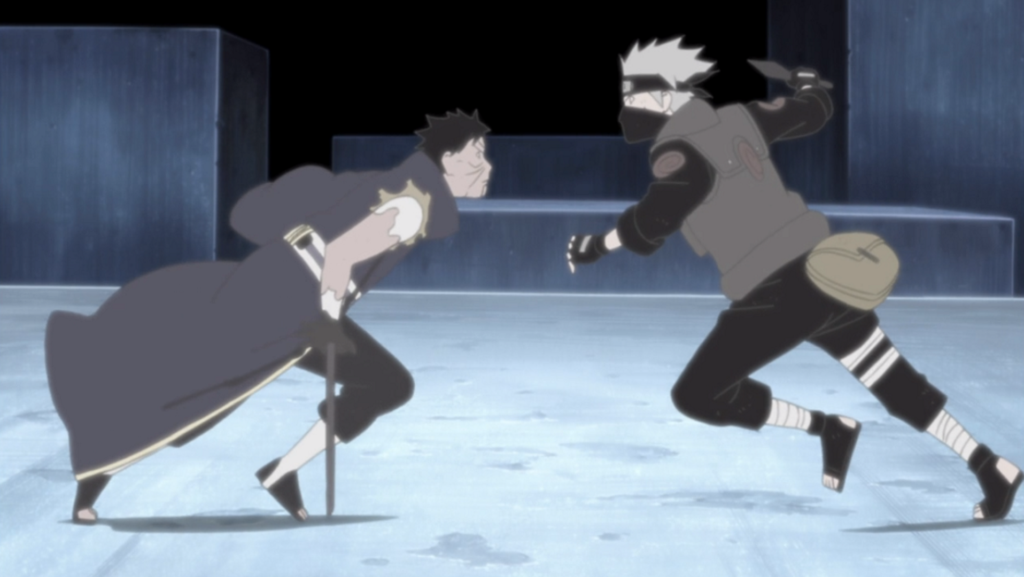 Obito Uchiha vs Kakashi Hatake