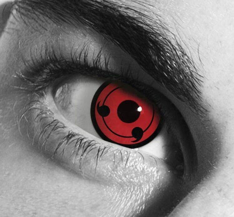Interesting Facts About Sharingan And Naruto Contact Lenses Hi Boox