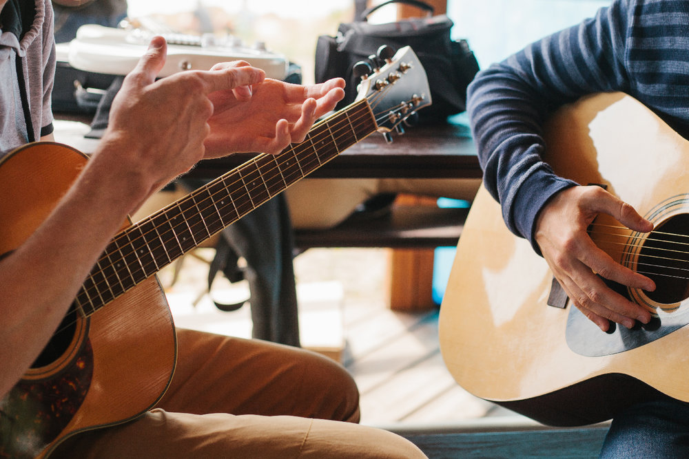 The Basic Approach to Beginner Guitar Lessons - Hi Boox
